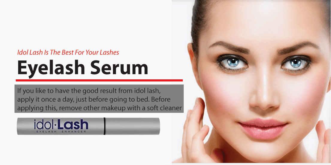eyelash serum idol lash