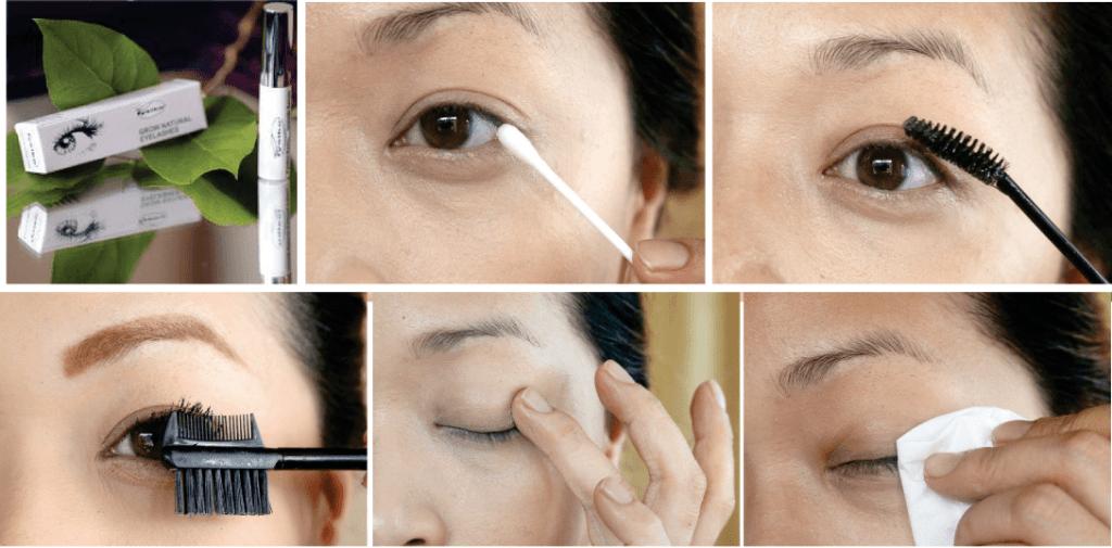 How to use Fysiko Eyelash Serum