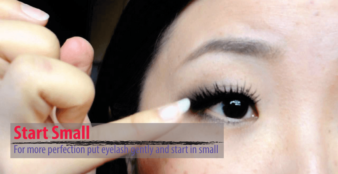 How To Put Eyelashes