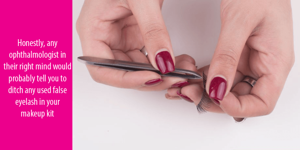 A Complete Awesome Tutorial On How To Clean False Eyelashes