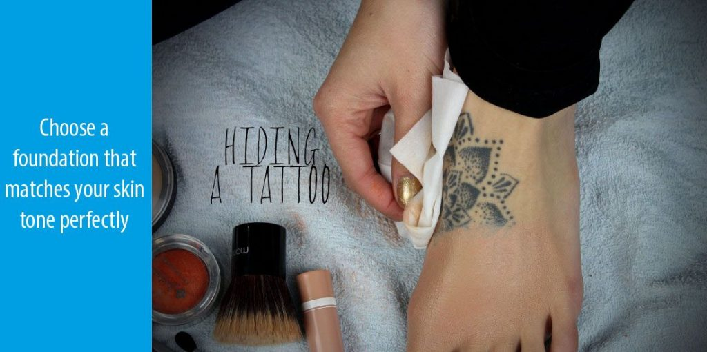 How to Cover a Tattoo Without Makeup