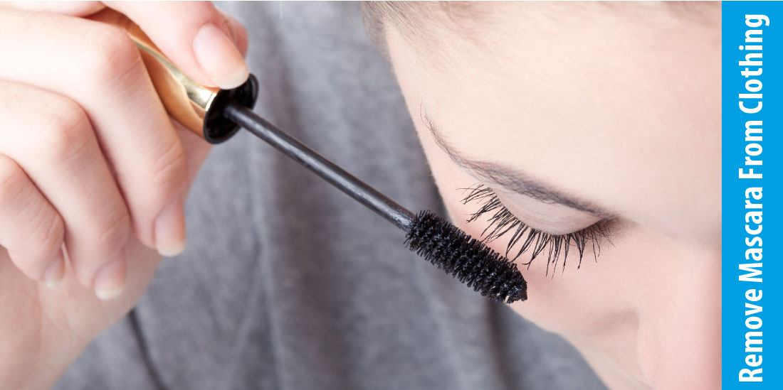 How To Remove Mascara From Clothing