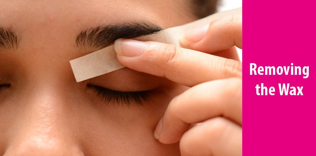 how to make wax for eyebrows
