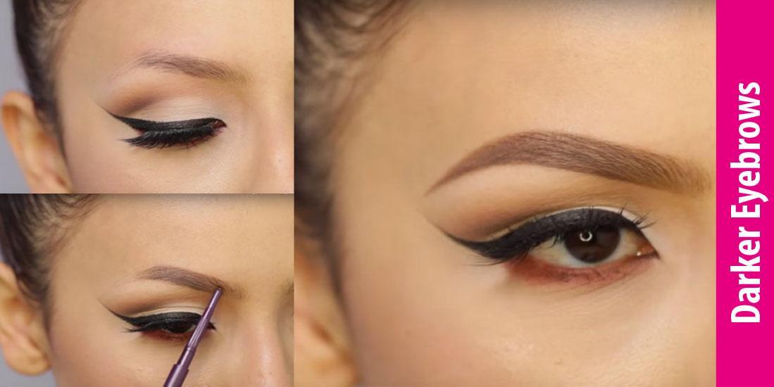 how to get darker eyebrows