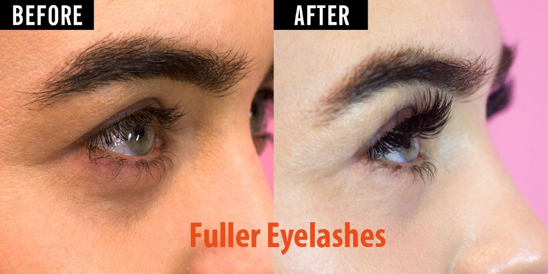 how to get fuller eyelashes