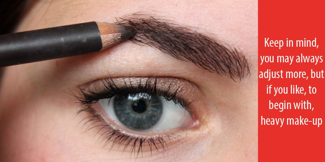How To Shade In Eyebrows