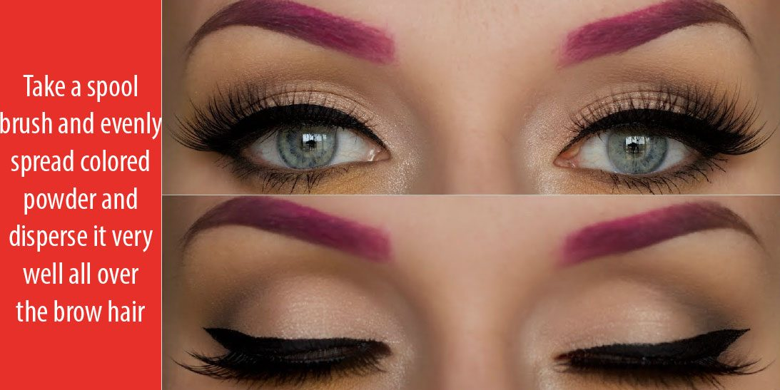 A Very Useful Tutorial On How To Shade In Eyebrows