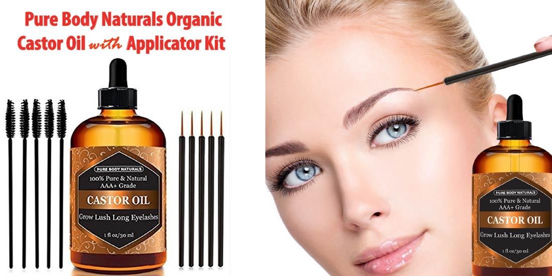 Pure Body Naturals Organic Castor Oil