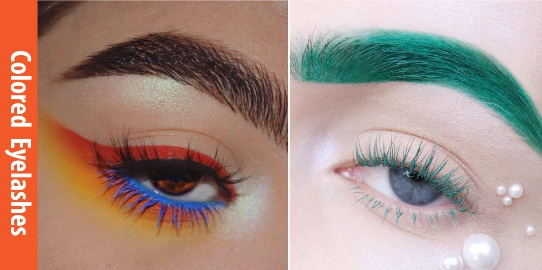 How to Color Eyelashes